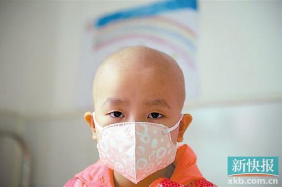 5岁小女孩白血病治愈在望 康复费用却无以为继