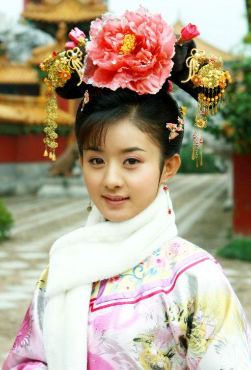 赵丽颖杨蓉唐艺昕 盘点古装很漂亮的娃娃脸明星