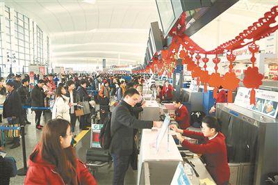 群众出行更便捷 春运首日南京铁路发送旅客近20万