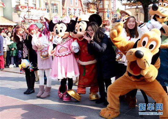 """(社会)(2)上海迪士尼乐园推出系列""""新年大餐"""""""