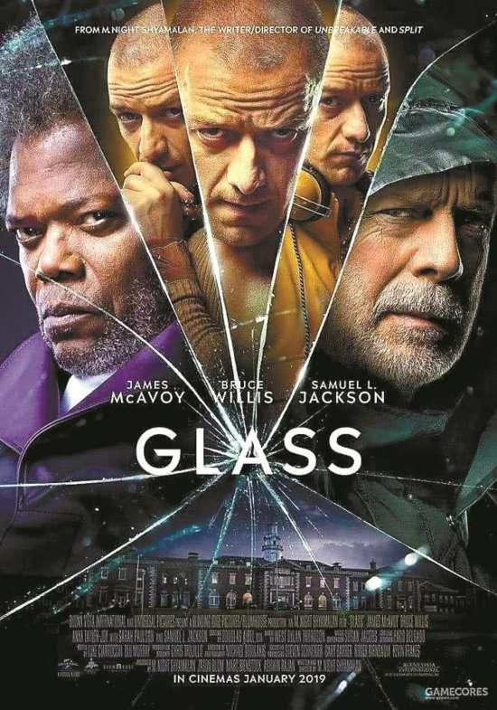 《不死劫》《分裂》续集《玻璃先生》登顶北美周末票房榜