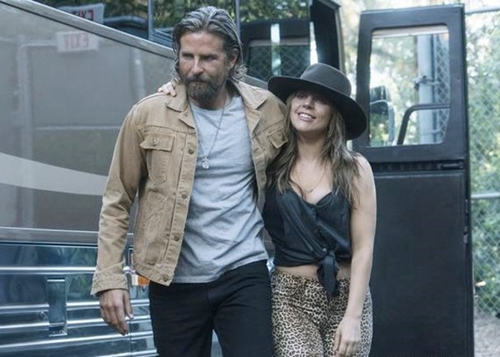 Lady Gaga与拍档齐争奥斯卡影帝影后