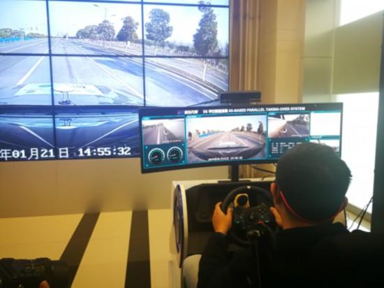 江苏移动在常熟完成5G远程驾驶实车演示