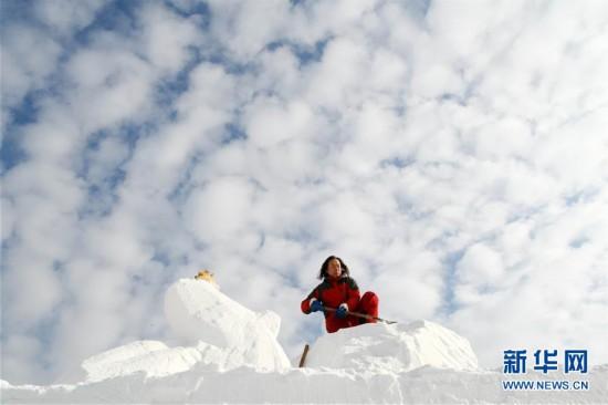(社会)(6)当白云邂逅白雪
