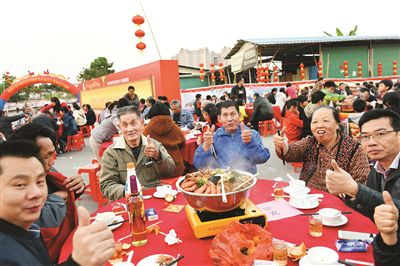 惠州博罗:经济收入涨文化活动多