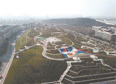 融入网站赌博注册赠送彩金和体育元素 南京姚坊门文体公园完工