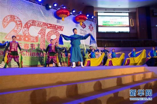 """""""欢乐春节""""演出在卢旺达大受欢迎"""
