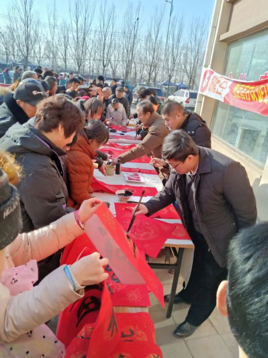 聊城经济技术开发区:送廉味对联过清风春节