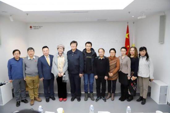中国红基会汤计人道传播基金第二批记者资助仪式在京举行