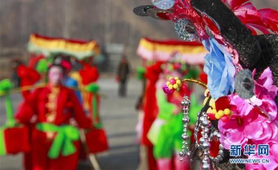 #(社会)(1)河北遵化:民俗节目排练忙