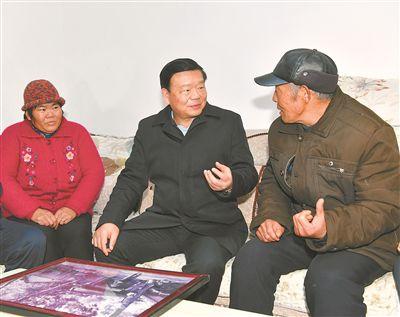 娄勤俭在徐州走访慰问:把群众的冷暖放在心上