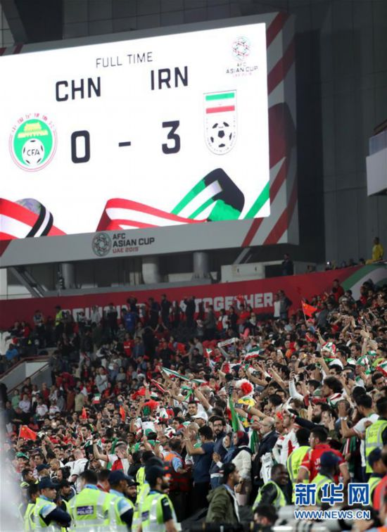 亚洲杯:中国队无缘四强【组图】