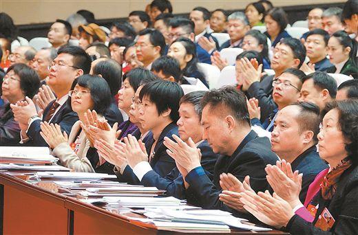 我赢彩票投注在廣西政協十二屆二次會議開幕會上的講話