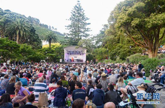 新西兰:惠灵顿花园音乐节