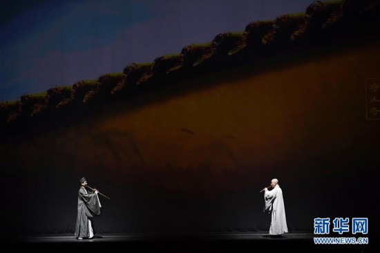 民族器乐剧《玄奘西行》在美国上演