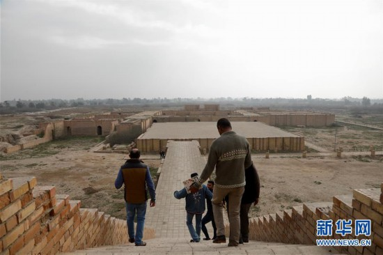 (國際·圖文互動)(3)探訪被遺忘的巴比倫古都杜爾·庫裡加爾祖