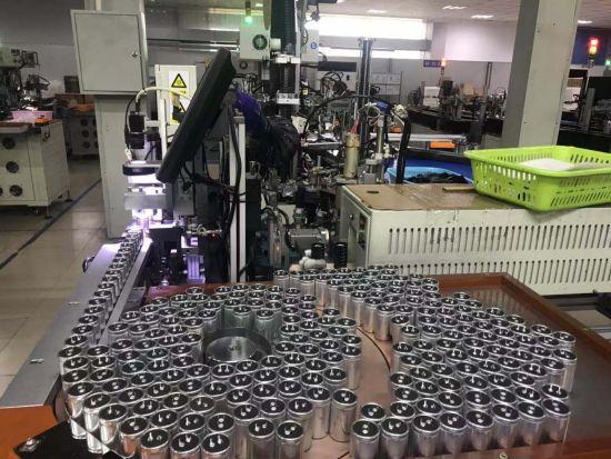 生產鋁電解電容器的民營企業。劉婷 攝