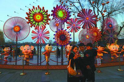 40余万件灯饰小年夜点亮京城
