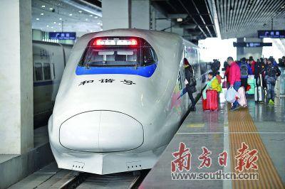 春运日均50万人进出广州南站如何快速吞吐?