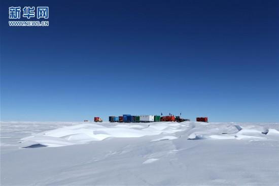 (图文互动)(3)昆仑队16名科考队员安全撤离南极冰盖高原