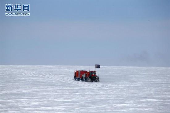 (图文互动)(2)昆仑队16名科考队员安全撤离南极冰盖高原