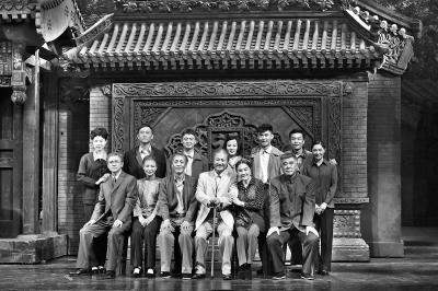 北京人艺两戏陪观众过大年