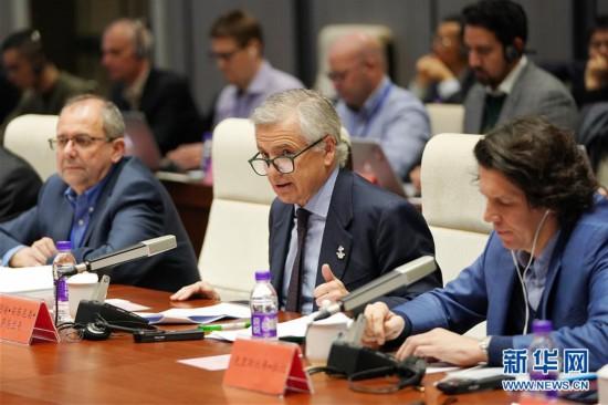(體育)(3)國際奧委會-國際殘奧委會北京2022年冬奧會和冬殘奧會項目審議會在京召開