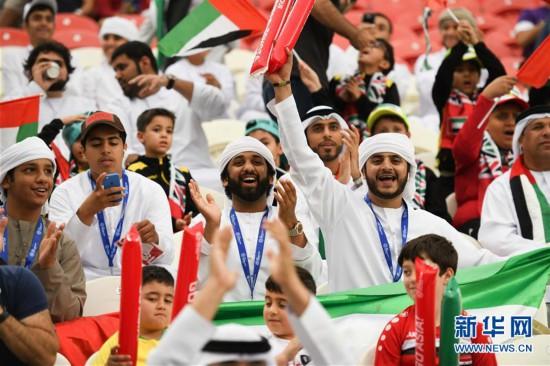 (亚洲杯)(1)足球――半决赛:卡塔尔队对阵阿联酋队