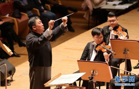 (文化)(2)上海交响乐团举行新春音乐会