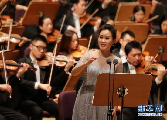 (文化)(4)上海交响乐团举行新春音乐会