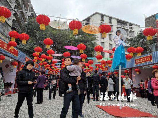 福清利桥街区民俗文化节开幕 展示传统民俗文化