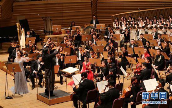 (文化)(5)上海交响乐团举行新春音乐会