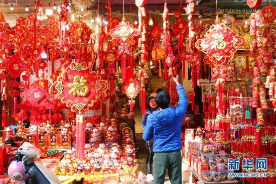 越南民众喜迎新春