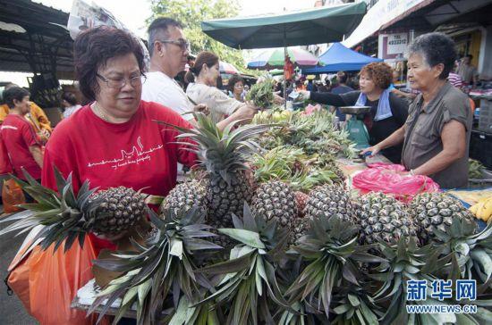 马来西亚:购年货 迎春节