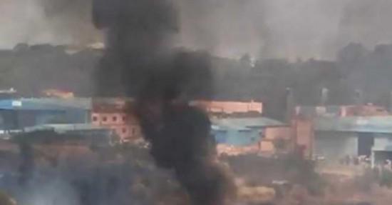 印度幻影2000战机坠毁现场曝光 2飞行员丧生