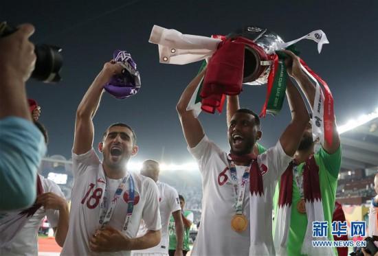 (亚洲杯)(15)足球——决赛:卡塔尔队夺冠