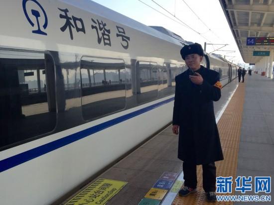 """【新春走基层】空中站台上的""""老黄牛"""""""