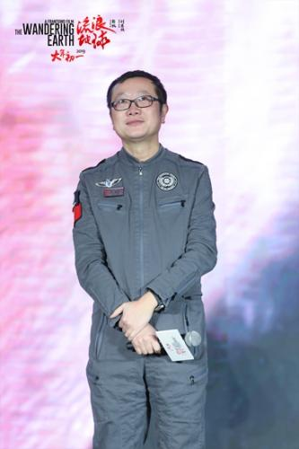 刘慈欣点赞科幻电影《流浪地球》:震撼心灵