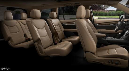 凯迪拉克XT6官图发布 将于北美车展亮相