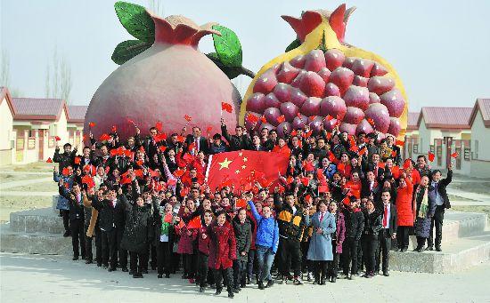 新春走基层:欢庆新春祝福祖国