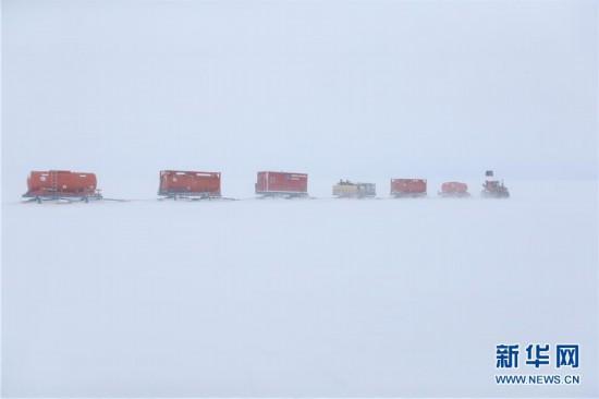 """""""雪龙""""号极地考察破冰船9日抵达南极中山站"""