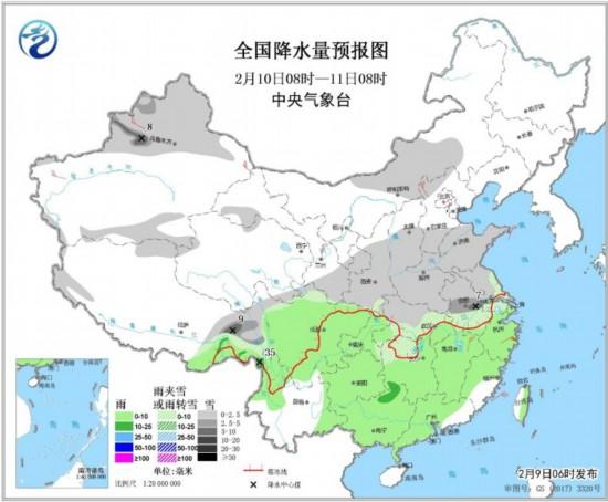 南疆盆地和新疆东部,甘肃中部,河北北部,湖北东部,江西北部和浙江中部图片