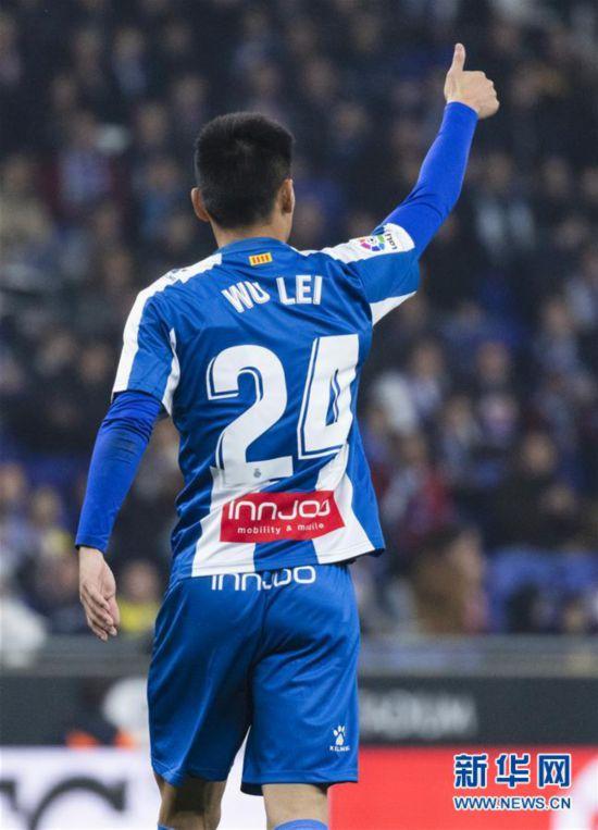 (体育)(14)足球――西甲:西班牙人胜巴列卡诺