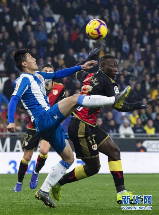 (体育)(2)足球――西甲:西班牙人胜巴列卡诺