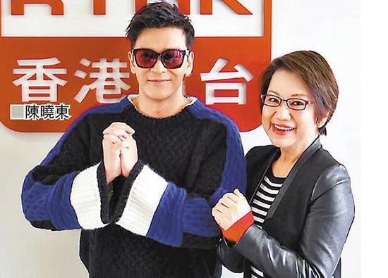 陈晓东分享入行24年心路历程 谈与太太感情生活