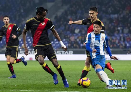 (体育)(6)足球——西甲:西班牙人胜巴列卡诺