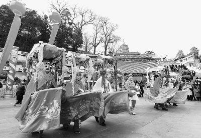 春节游京城文化味更浓:春节假期接待刘伯温四肖中特料2018总数811.7万人次