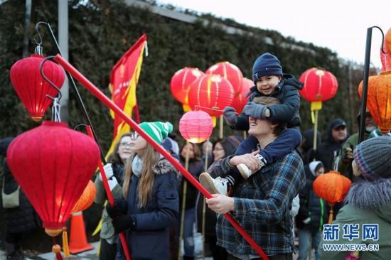 (国际)(2)芝加哥艺术博物馆举行活动庆祝中国农历新年