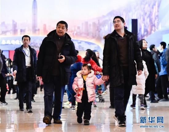 """(文化)(4)""""伟大的变革——庆祝改革开放40周年大型展览""""春节迎客超35万人"""