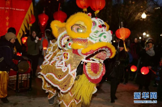 (国际)(5)芝加哥艺术博物馆举行活动庆祝中国农历新年